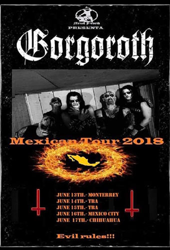 Gorgoroth info - News